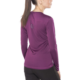 Norrøna W's /29 Tech Long Sleeve Shirt Dark Purple
